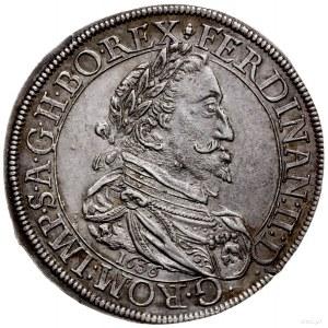 talar 1636, Graz; Aw: Popiersie cesarza w prawo, pod ni...