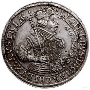 talar 1632, Hall; Aw: Półpostać w prawo, wokoło napis, ...