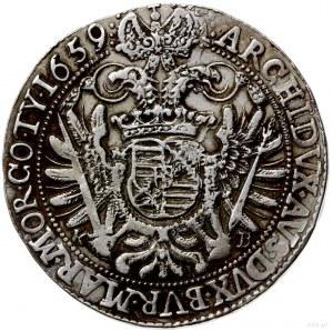 talar 1659, Krzemnica; Aw: Popiersie w prawo i napis wo...