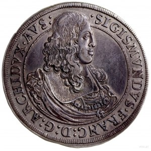 talar 1665, Hall; odmiana z arcyksięciem bez wieńca lau...