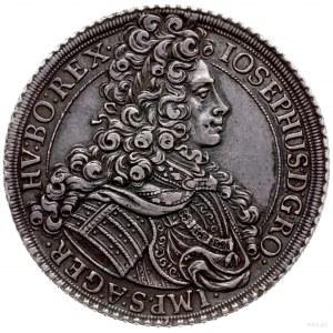 talar 1705, Wiedeń; Aw: Popiersie w prawo, wokoło napis...