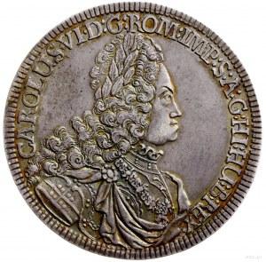 talar 1719, Hall; Aw: Popiersie w prawo i wokoło napis,...