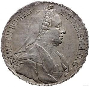 talar 1767, Wiedeń; Aw: Popiersie w prawo i napis wokoł...