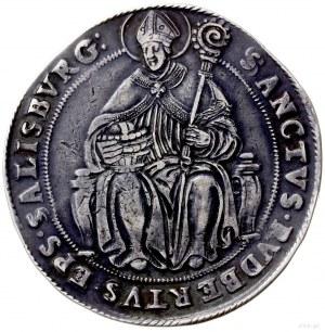 talar bez daty, Salzburg; Aw: Tarcze herbowe i napis w ...