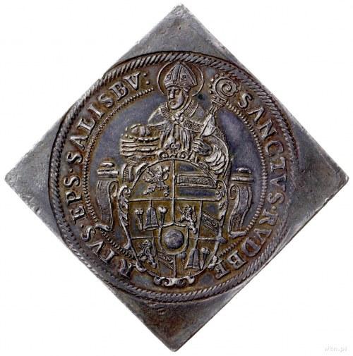 klipa talara 1593, Salzburg; Aw: Święty Rupert w biskup...