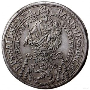 talar 1633, Salzburg; Aw: Madonna z dzieciątkiem i napi...