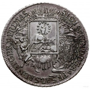 talar 1758, Salzburg; Aw: Madonna z Dzieciątkiem na por...