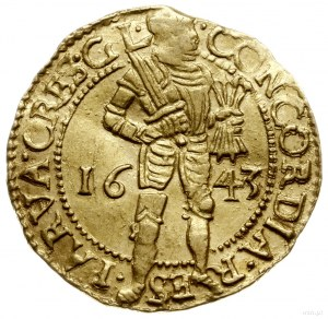 dukat 1643; Delmonte 649, Fr. 237, Verk 2.2, Purmer Ge4...