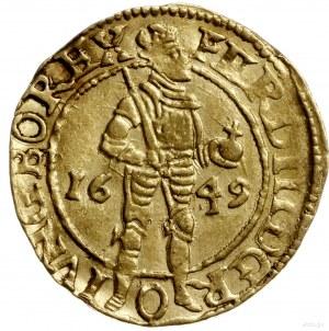 dukat 1649; Delmonte 1117 (R1), Fr. 161, Verk 159.1, Pu...
