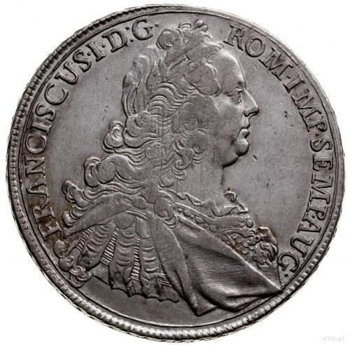 talar 1760; moneta z tytulaturą Franciszka I; Dav. 1926...