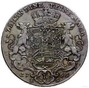 talar 1766, Bayreuth; odmiana z orderem bez korony oraz...