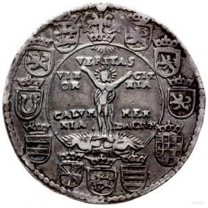 talar 1598, Goslar; Aw: Napisy w pięciu wierszach, napi...