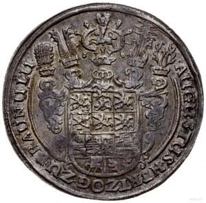 talar 1643, Goslar; Aw: Tarcza herbowa, wokoło napis, R...