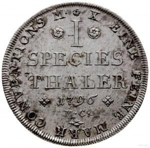 talar 1796 MC, Braunschweig; Dav. 2173, Welter 2903; sr...