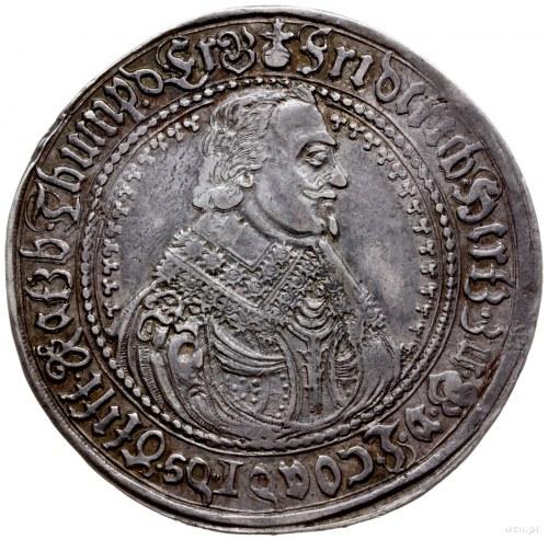 talar 1639, Clausthal; Aw: Popiersie w prawo i napis wo...
