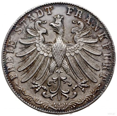 2 guldeny 1855, Frankfurt; wybite z okazji 300. rocznic...