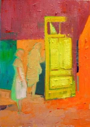 Agata Ruman, Żółte drzwi