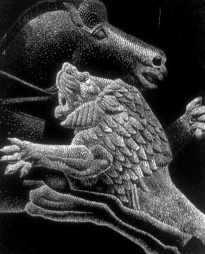 Ryszard Rabsztyn, Ożywianie przeszłości. Biały lew, 2017