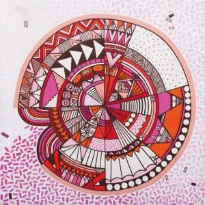 Jagoda Dziewanowska, Pink point, 2016