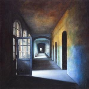 Iwona Wojewoda, Niebieskie drzwi, 2018
