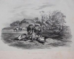 Albrecht Adam wg (1786-1862), Sceny z wyprawy Napoleona na Rosję