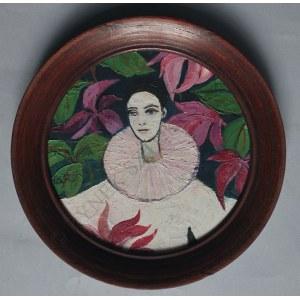 Krystyna Liberska (1926-2010), Pierrot (1992)