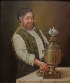 Konstanty Szewczenko (1910-1991), Z samowarem