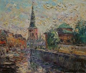 Włodzimierz Zakrzewski (1916-1992), Widok miasta (1964)
