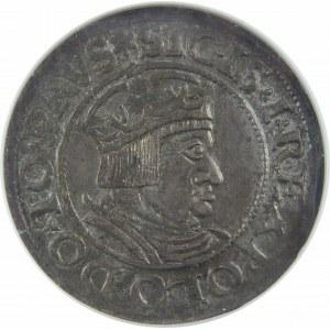 Zygmunt I Stary, Grosz 1535, Gdańsk, NGC MS62