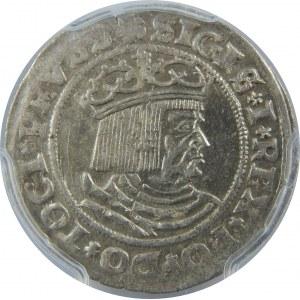 Zygmunt I Stary, Grosz 1529, Toruń, PCGS MS62