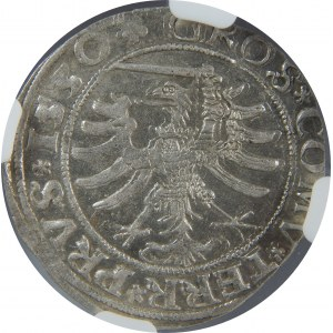 Zygmunt I Stary, Grosz 1530, Toruń, NGC AU58