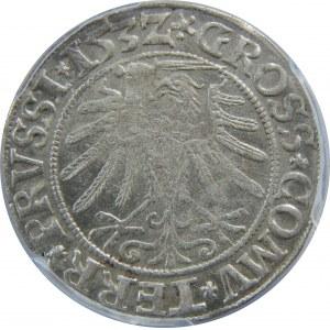 Zygmunt I Stary, Grosz 1532, Toruń, PCGS MS62