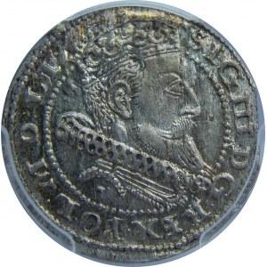 Zygmunt III Waza, Grosz 1604/3, Kraków, PCGS MS64