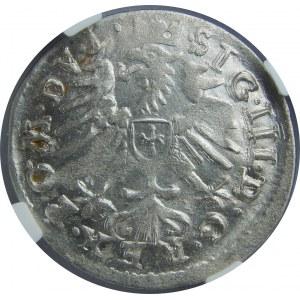 Zygmunt III Waza, Grosz 1609, Wilno, NGC MS61