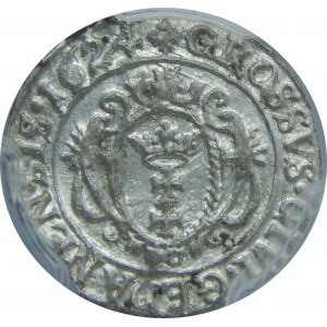 Zygmunt III Waza, Grosz 1624, Gdański, PCGS MS62