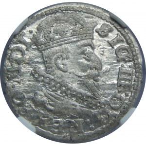 Zygmunt III Waza, Grosz 1625, Wilno, NGC MS63