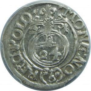 Zygmunt III Waza, Półtorak 1621, Bydgoszcz, PCGS MS63
