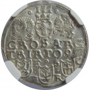 Zygmunt III Waza, Trojak 1597, Bydgoszcz, NGC MS63
