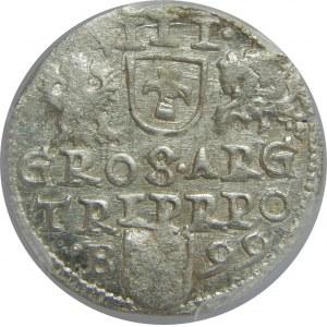 Zygmunt III Waza, Trojak 1599, Bydgoszcz, PCGS MS63