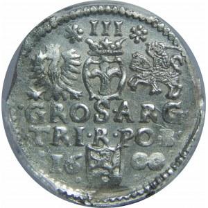 Zygmunt III Waza, Trojak 1600, Bydgoszcz, PCGS MS62