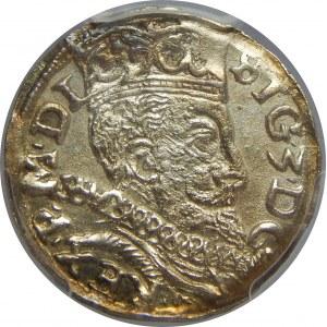 Zygmunt III Waza, Trojak 1597, Lublin, PCGS MS62