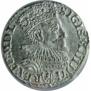 Zygmunt III Waza, Trojak 1594, Malbork, PCGS MS63
