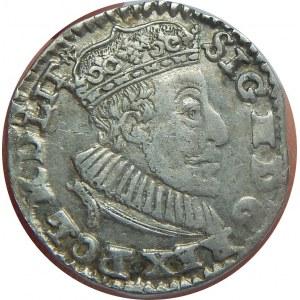 Zygmunt III Waza, Trojak 1591, Olkusz