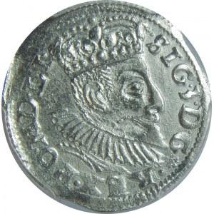 Zygmunt III Waza, Trojak 1596, Poznań, PCGS MS62