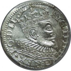 Zygmunt III Waza, Trojak 1594, Ryga, PCGS MS63