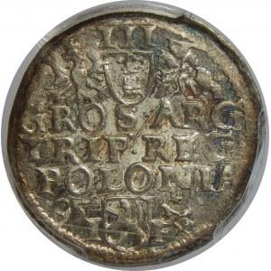 Zygmunt III Waza, Trojak 1595, Wschowa, PCGS MS62