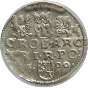 Zygmunt III Waza, Trojak 1599, Wschowa, PCGS MS62