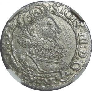 Zygmunt III Waza, Szóstak 1625, Kraków, NGC MS62
