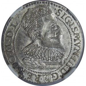 Zygmunt III Waza, Szóstak 1596, Malbork, NGC MS63