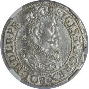 Zygmunt III Waza, Ort 1613, Gdańsk, NGC MS62